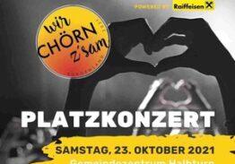 Platzkonzert Halbturn – Festival der Landesjugendchöre